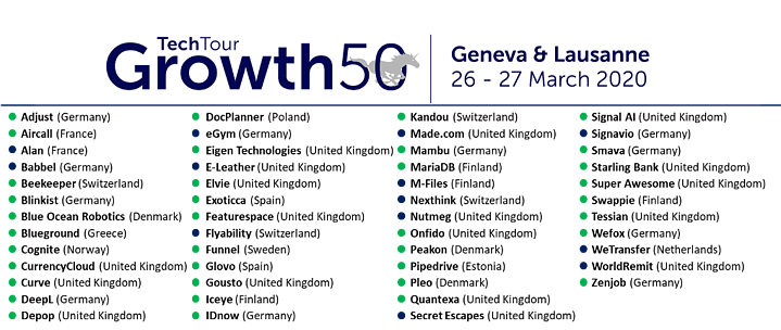 Growth Tech Tour 50