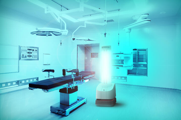 Third Generation of UVD Robots in Operating Theater