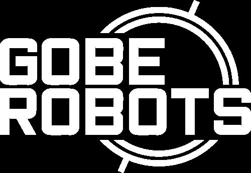 GOBE ROBOTS logo-white